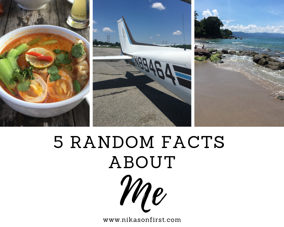 5 Random Facts About Me